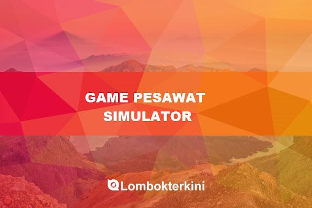 Game Pesawat Simulator Indonesia