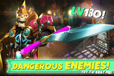 Tampilan Game Dungeon Legends Android