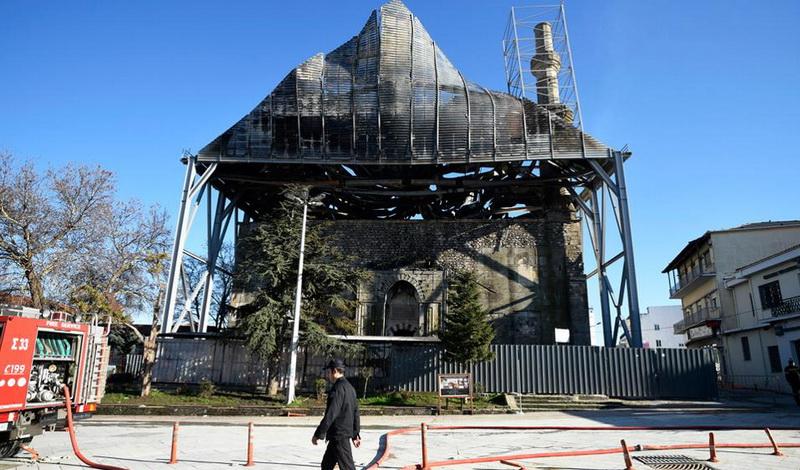 Τέμενος Βαγιαζήτ: Πόρισμα - φωτιά καίει στελέχη του Υπουργείου Πολιτισμού για την καταστρεπτική πυρκαγιά