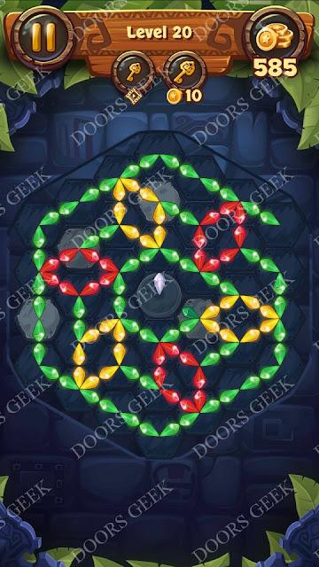 Gems & Magic [Titanium] Level 20 Solution, Walkthrough, Cheats