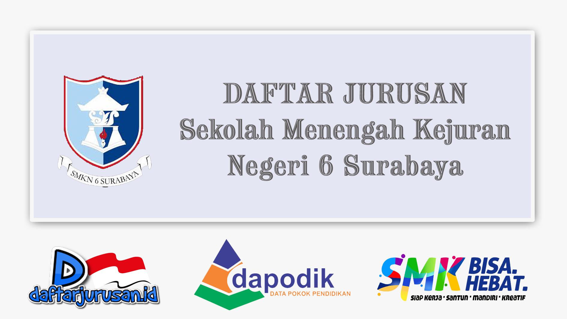 Daftar Jurusan SMK Negeri 6 Surabaya