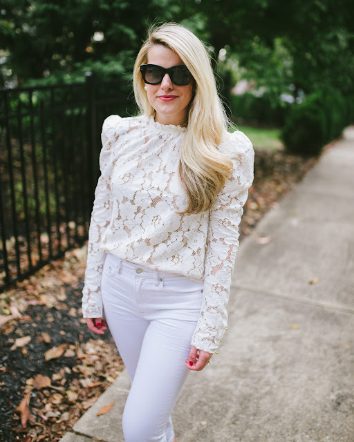 Wedding Wednesday: Winter White Casual Outfit