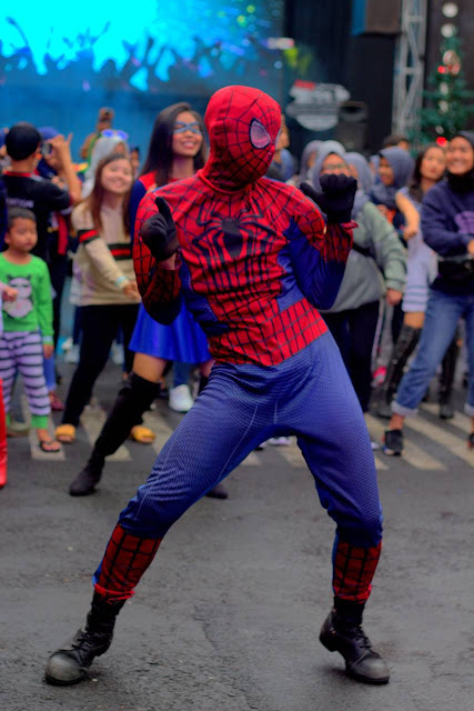 [KEPERGOK] Spiderman Joget Di Museum Angkut Yogyakarta