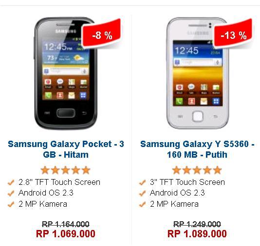 Daftar Harga Handphone Samsung Android Terbaru Februari