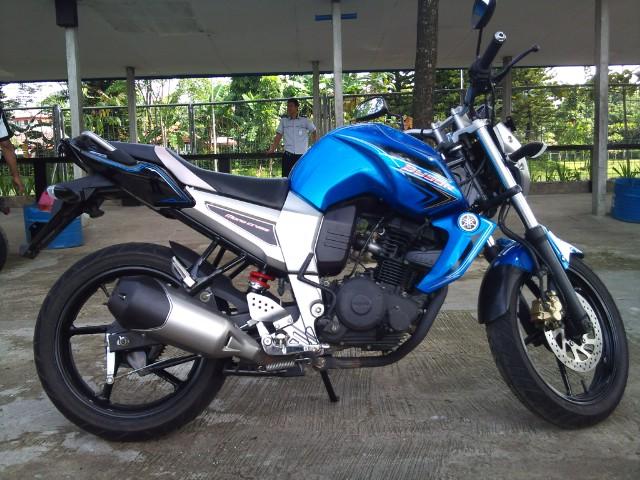 Tampilan bawaan motor Yamaha Byson