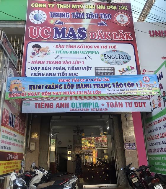 Trung tâm toán tư duy UCMAS chi nhánh tại Đắk Lắk