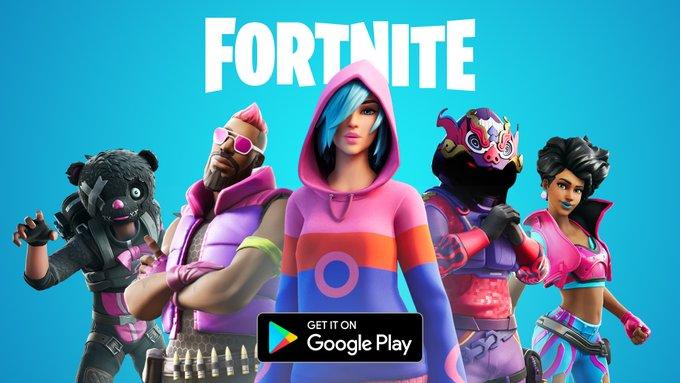 أخيراً .. لعبة فورت نايت أصبحت متوفرة على جوجل بلاي