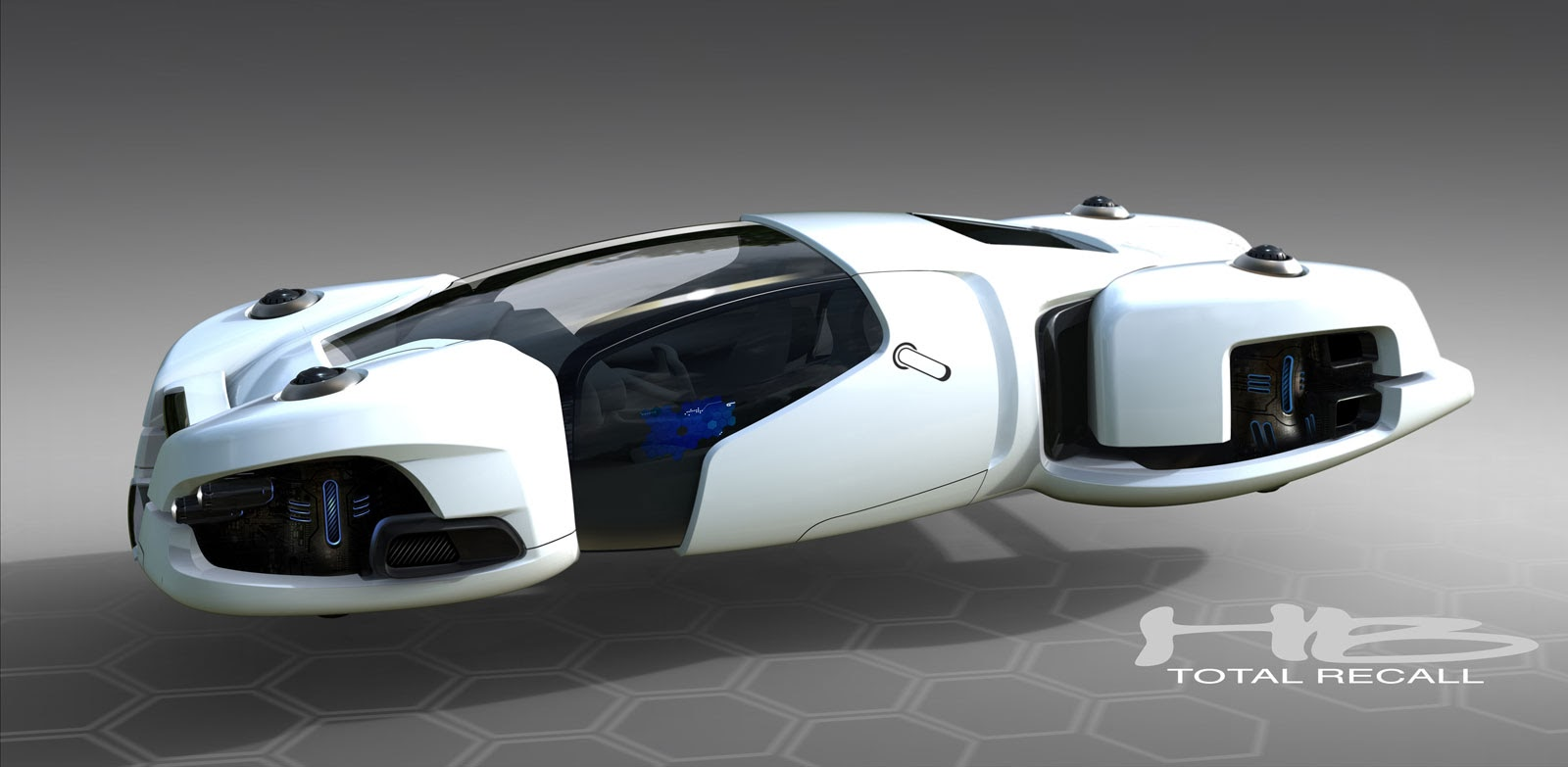 BA  Game Art   3D modeling and Design  3D Car Model   Future Car As my model car was an Audi I used the irobot Audi for my main design   getting rid of the wheels and having the car hovering  I also took the  style from