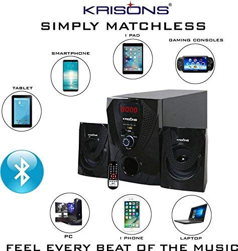 2.1 Bluetooth Home Theater from Krisons Nexon,2.1 bluetooth speaker,bluetooth speaker