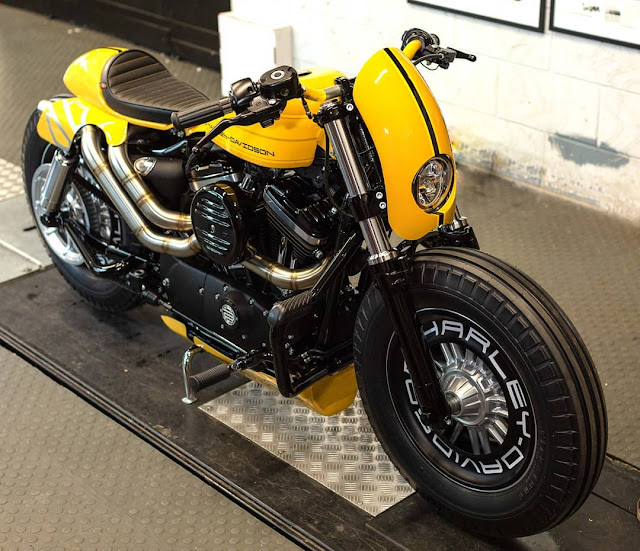 Harley Davidson 48 By Shaw Speed And Custom Hell Kustom