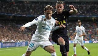 Real Madrid Ditahan Imbang Tottenham Hotspur 1-1