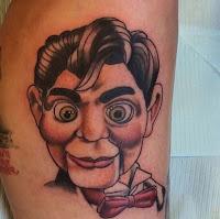 tatuaje para halloween  slappy