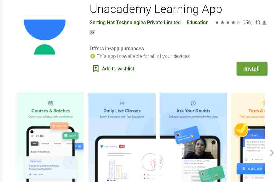 Unacademy Learning App