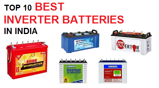 10 Best Inverter Battery in India (2020)