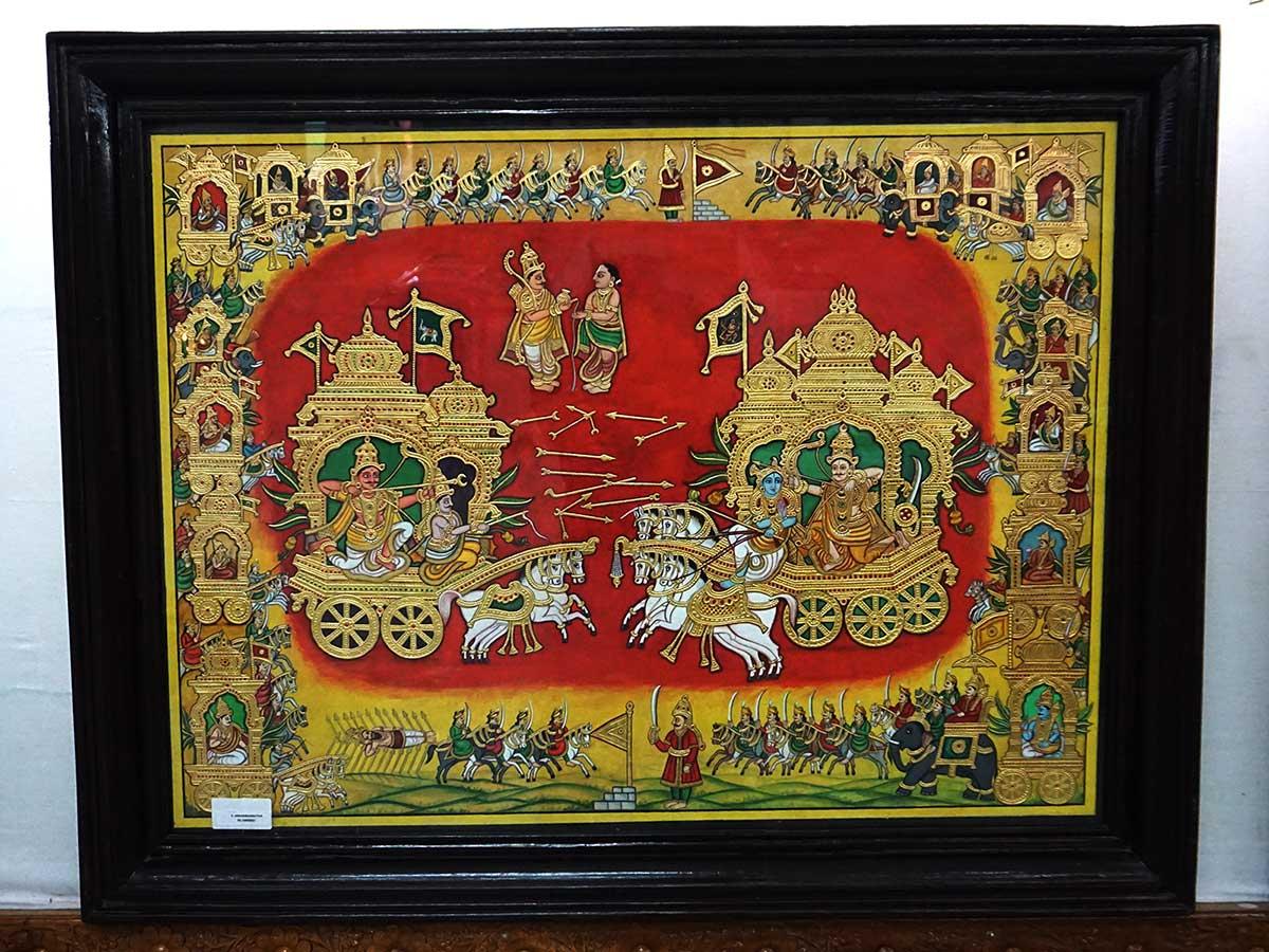 Kurukshetra War Painting