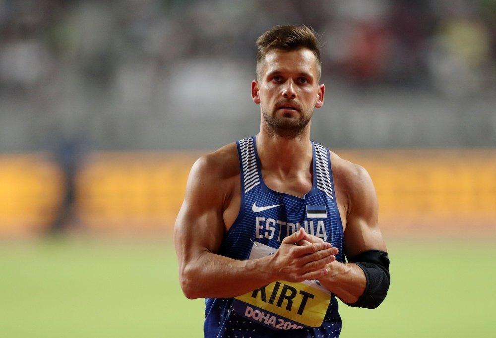 Magnus Kirt no Mundial em Doha 2019