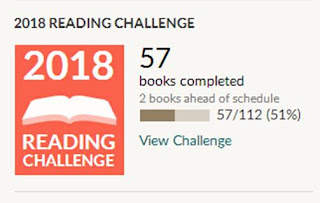 The 2018 reading challenge - June 30 update