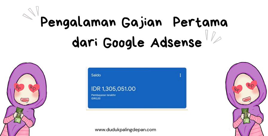 gajian dari Google Adsense