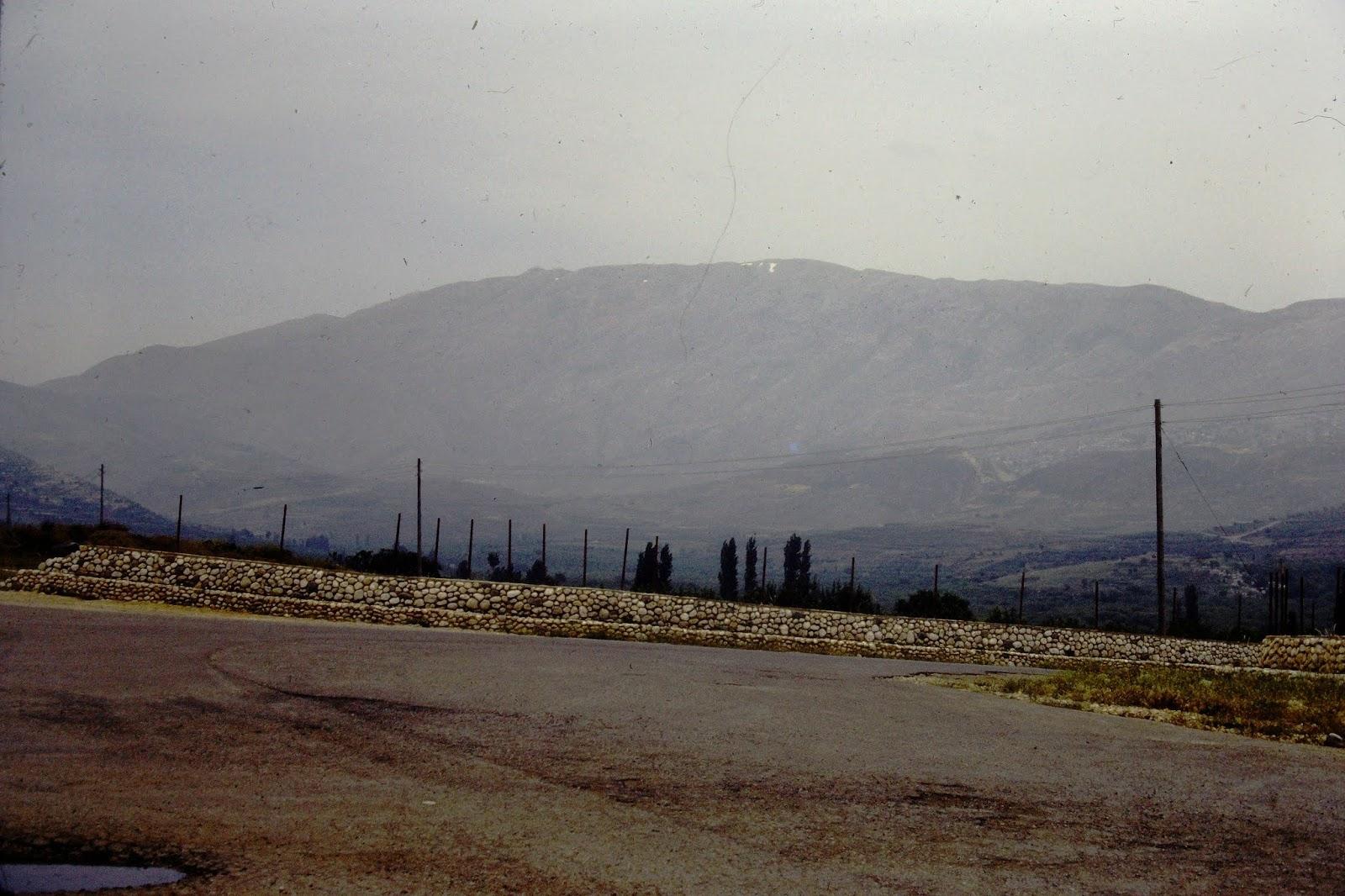 Mount Hermon - June 1982