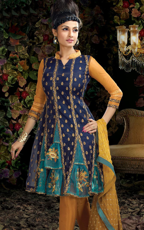 Diva Beauty Box Diwali Stylish Dresses For Girls 2011