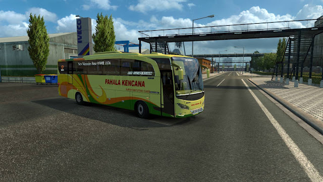 Jetbus HD Mod ets2 indonesia v1.26 Terbaru