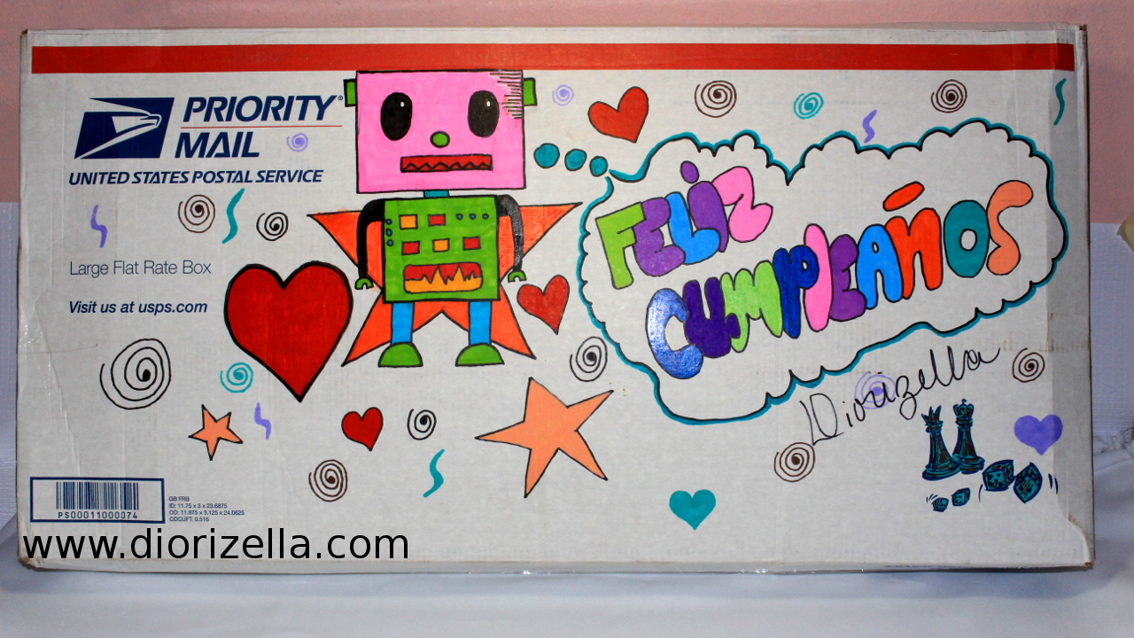 Diorizella events and crafts unboxing regalo de - Regalos para una hermana ...