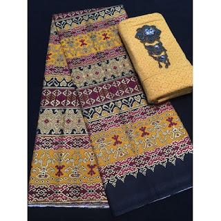 Kain Batik Primis dan Embos 271 kuning