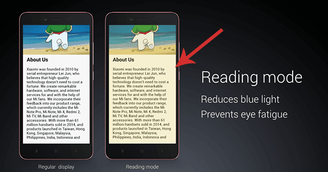 How To Enable Reading Mode On Redmi Note 4 Androwide Com