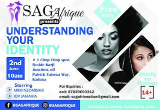 "Saga Afrique Presents: ""Understanding Your Identity"" (@SagaFrique)"