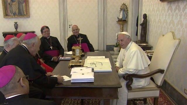 Deje de ser blando con nuestro déspota, dijeron obispos venezolanos al Papa