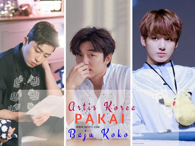 Artis Korea Pakai Baju Koko