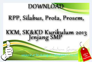 Download RPP, Silabus, Prota, Prosem, KKM, SK&KD Kurikulum 2013 Bahasa Indonesia Kelas VII  SILABUS BHS INDONESIA KLS VII