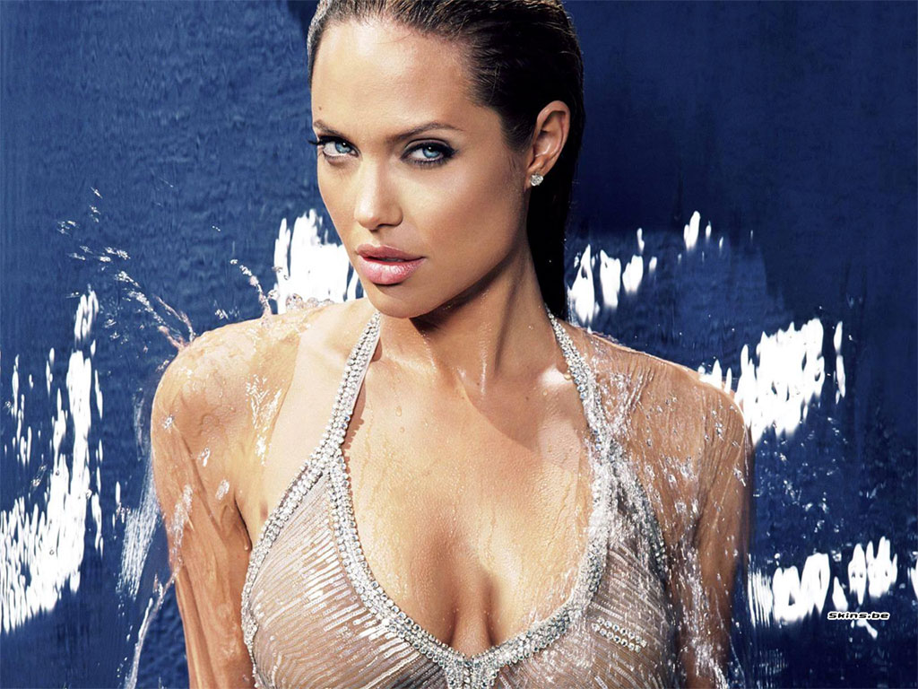 Hollywood Wallpaper Angelina Jolie Hot Images-7623