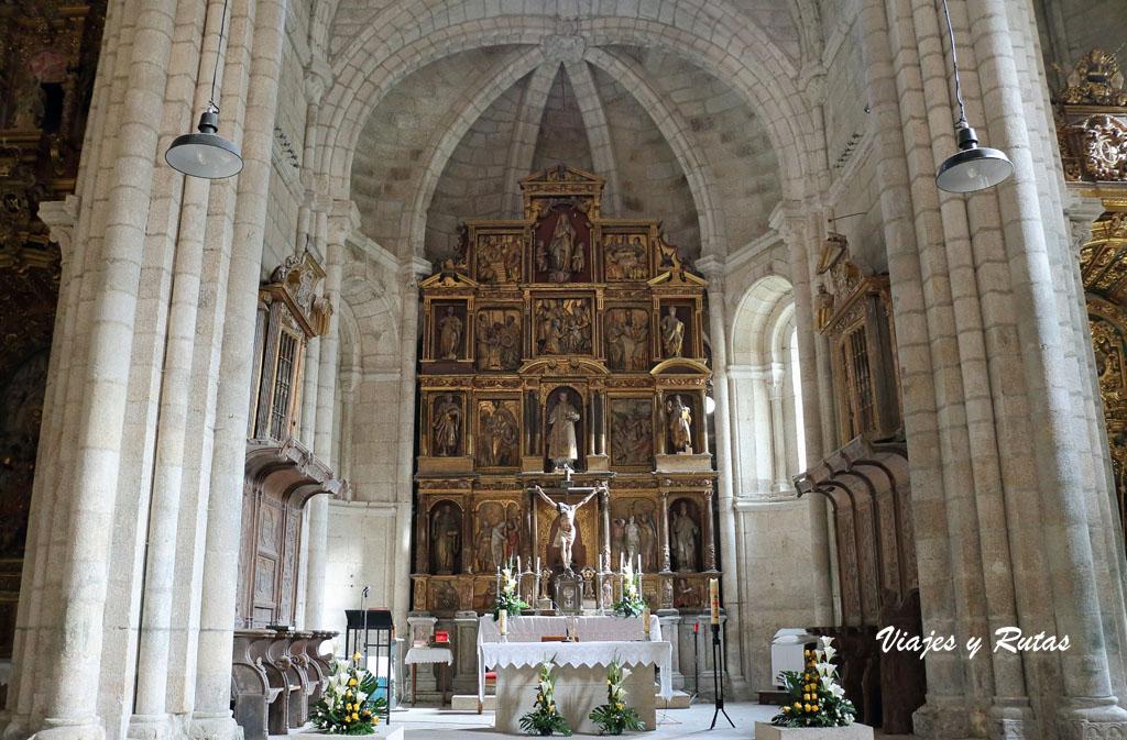 Retablo de la Iglesia de Santo Estevo de Ribas de Sil