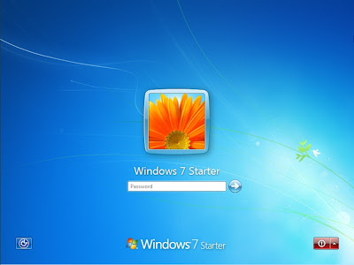 Windows 7 Starter 32 Bit Computer Operating System Installation Guide - Boot 1