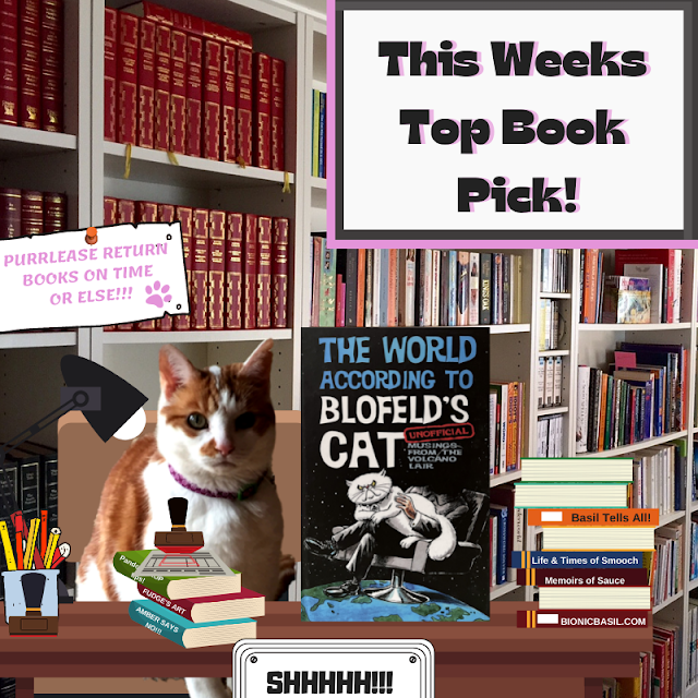 Book Reviews with Amber #168 ©BionicBasil® The World According to Blofeld's Cat