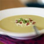 Trinta pankolio ir saliero šaknies sriuba