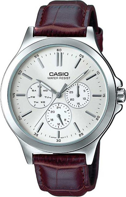Casio A1177 Enticer Men's Smart Analog Watch