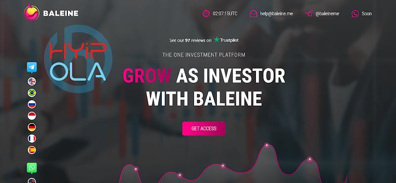 [SCAM] Review Baleine Me - Dự án chất như nước cất với lãi 3% hằng ngày
