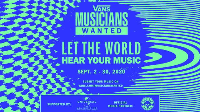Vans Musicians Wanted Competition Worldwide