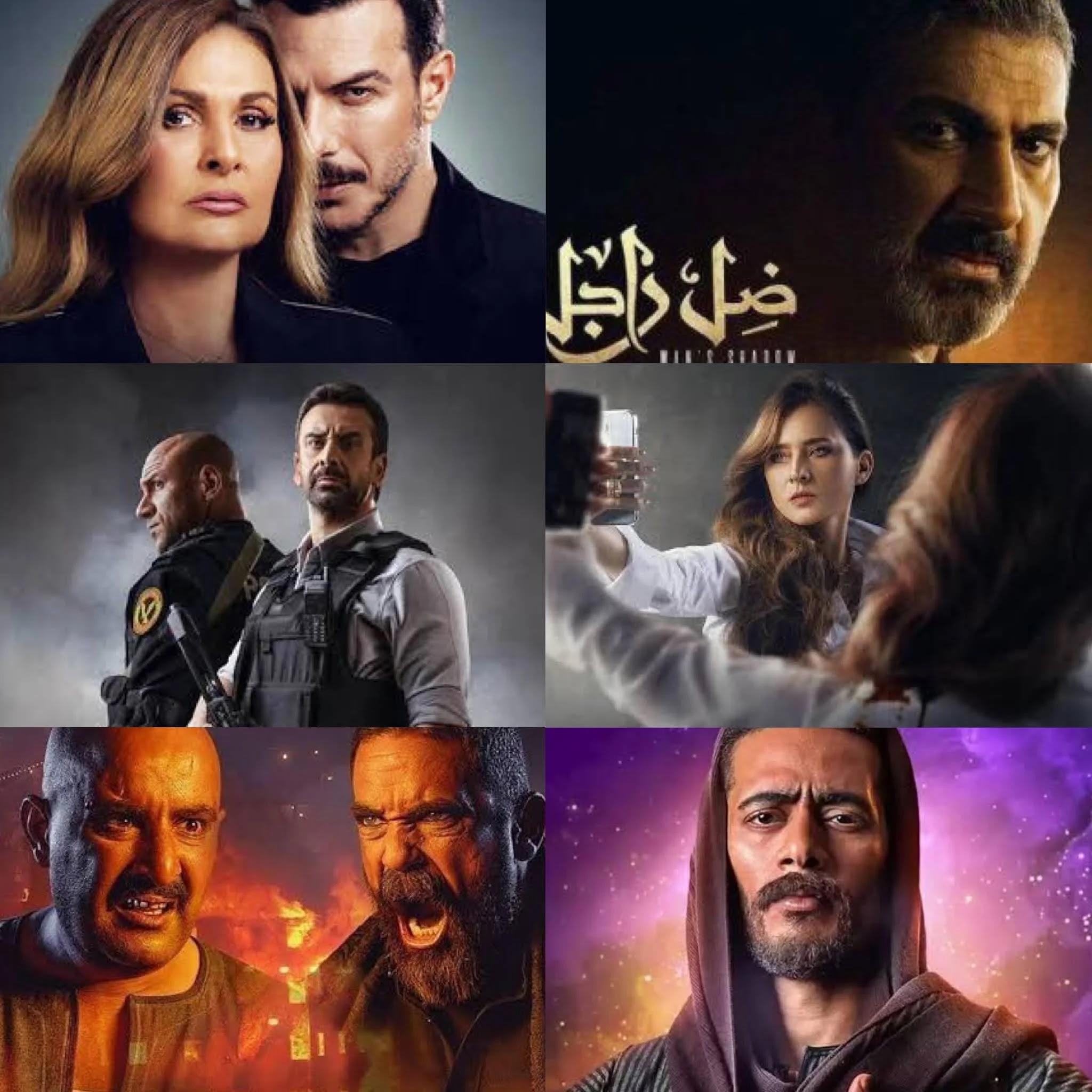 الخريطة الكاملة لمواعيد عرض مسلسلات رمضان 2021