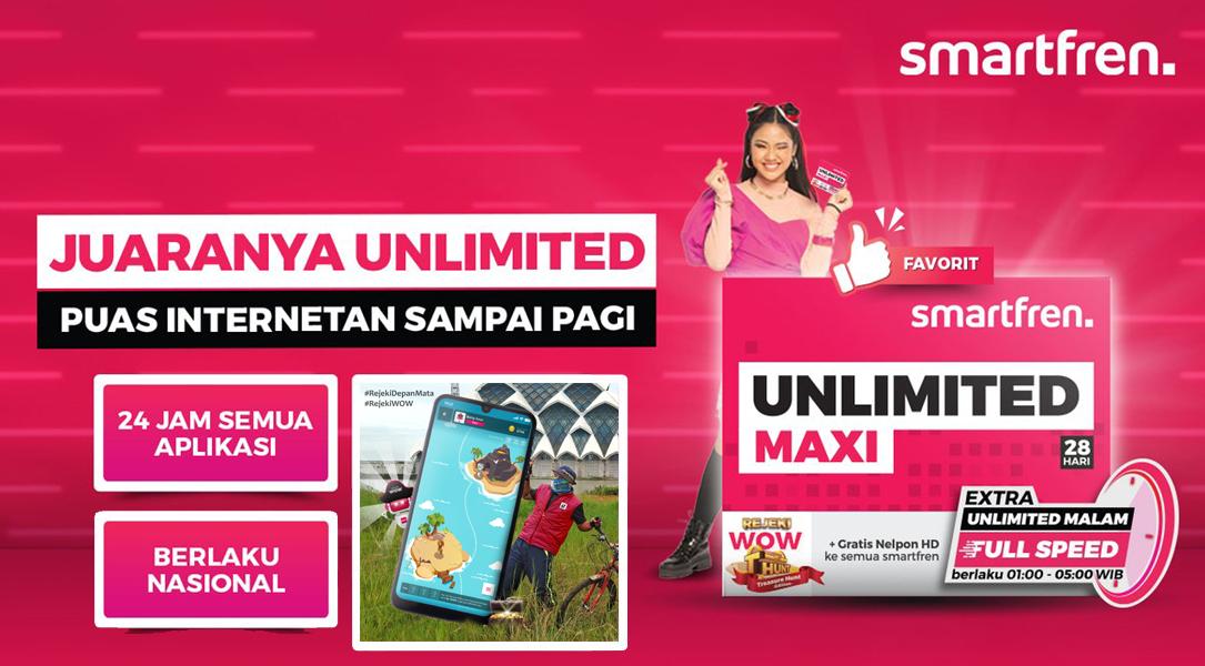 smartfren | Unlimited MAXI