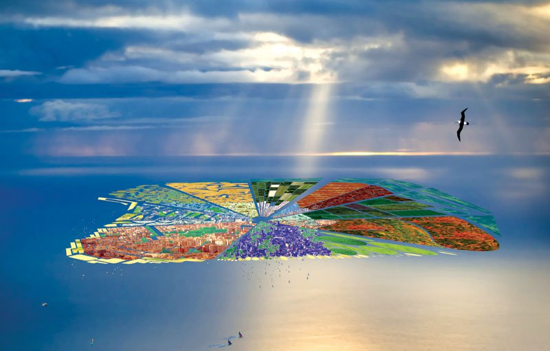 Ocean Floating Cities