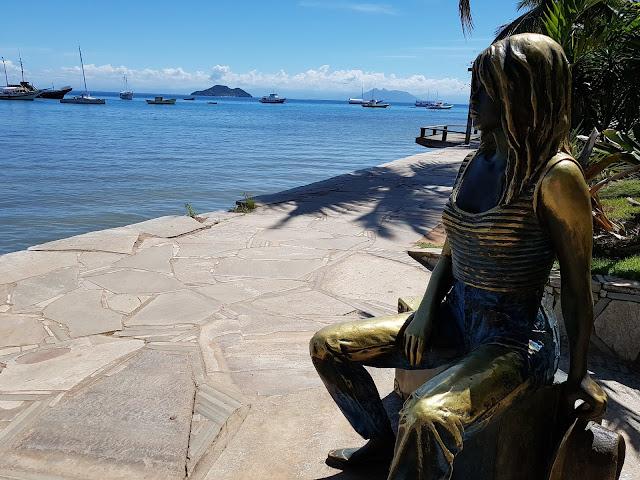 Estátua de Brigitte Bardot - Armação dos Búzios - RJ - Rio de Janeiro - Brasil