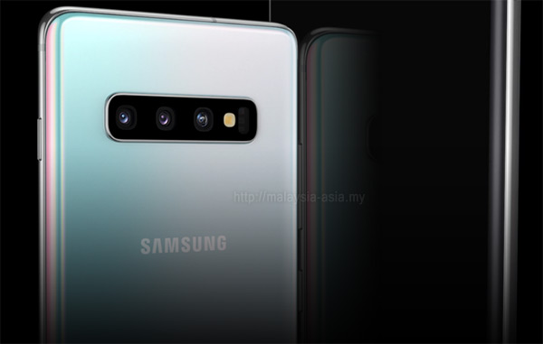 Camera System on Samsung Galaxy S10 Plus