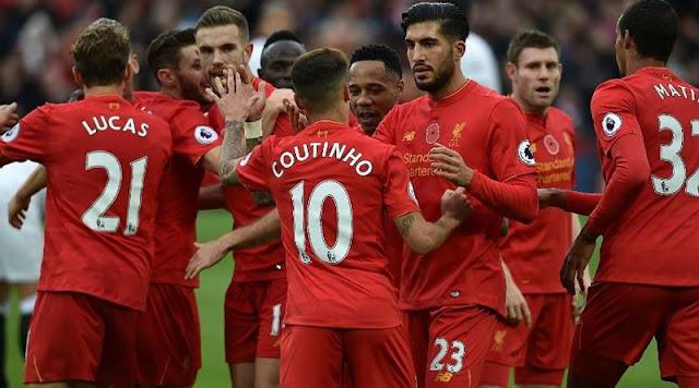 Hasil pertandingan Liga Inggris, Liverpool vs Sunderland 2-0