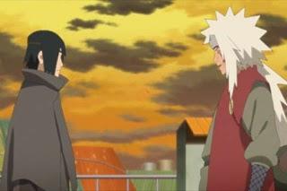 Preview Boruto Episode 136 Sasuke dan Jiraiya
