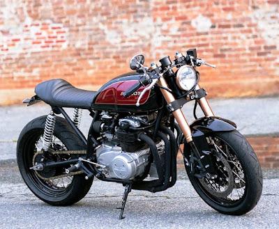 Gambar Modifikasi Honda CB 100 Classic Elegan 571099