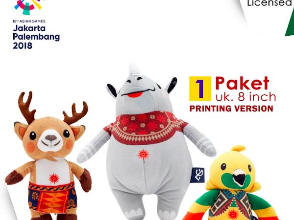 Ini Dia Toko Online yang Jual Merchandise Asian Games 2018