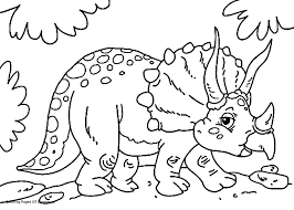 Dinosaur Coloring In Pages